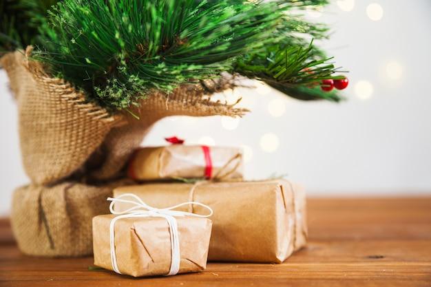 Cadeaus onder maretak