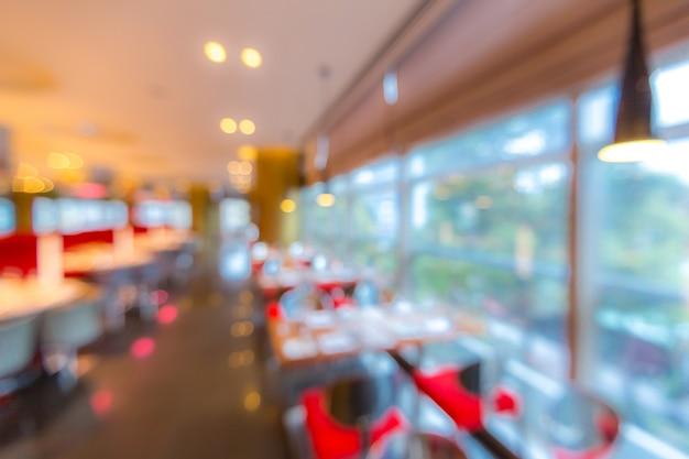 Cafe restaurant wazige achtergrond