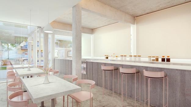 Cafetaria. coffeeshop interieur