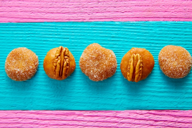 Cajeta caramel mexicaanse snoepgoed pecannoten