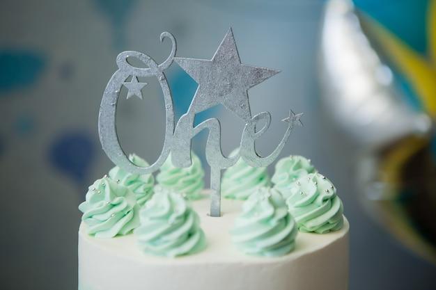 Cake voor de eerste verjaardag