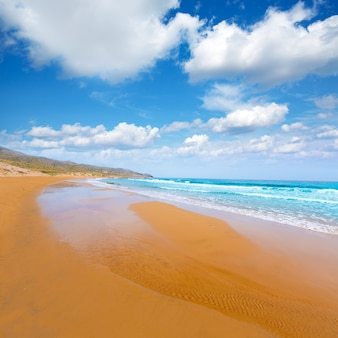 Calblanque strand park manga mar menor murcia