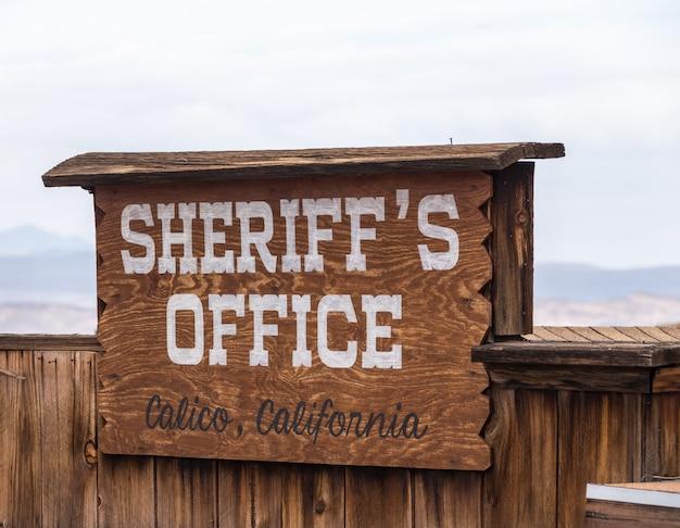 Calico is een spookstad in san bernardino county, californië