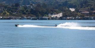 Californië, skiier, watersport
