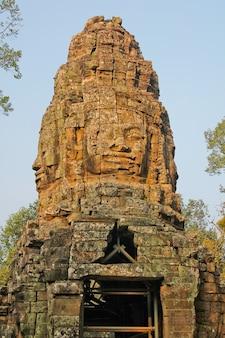 Cambodja, siem reap, 22 januari 2014, angkor - ta prohm