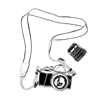Camera en lens