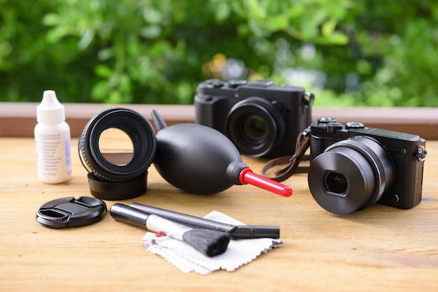 Camera en lensverzorging
