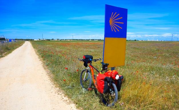 Camino de santiago met de fiets saint james
