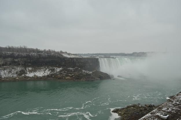 Canadese kant van de niagara-watervallen