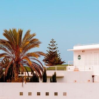 Canarische eiland uitzicht. reisconcept.