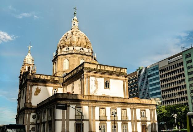 Candelaria-kerk in rio de janeiro, brazilië