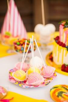 Candy bar op verjaardagsfeestje voor kinderen