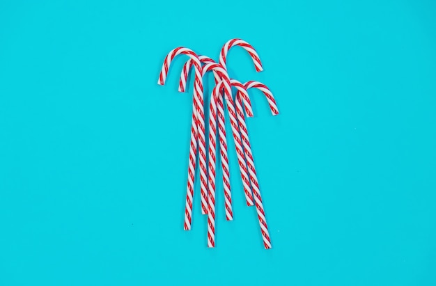 Candy canes, bovenaanzicht
