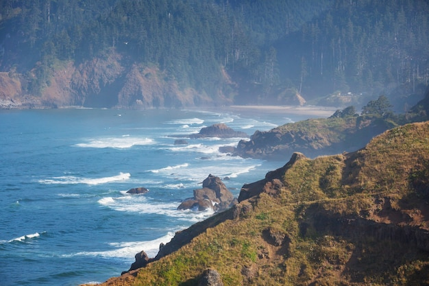 Cannon beach, oregon coast, verenigde staten