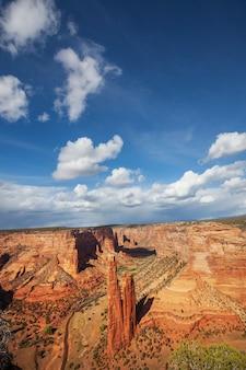 Canyon de chelly in arizona, vs