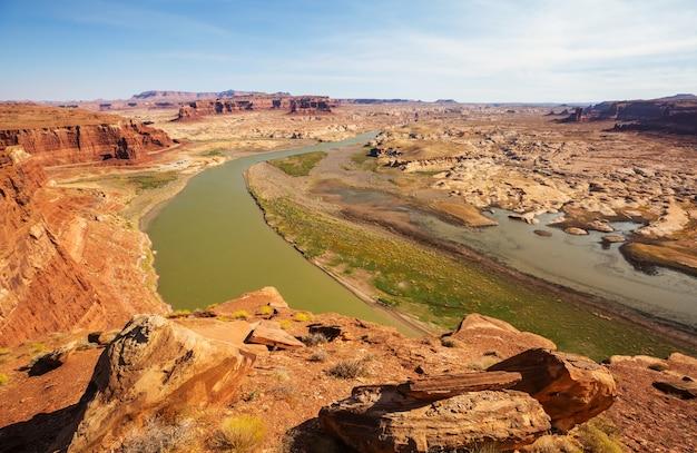 Canyon van de colorado-rivier