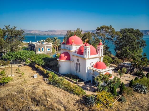 Capernaum kerk uitzicht