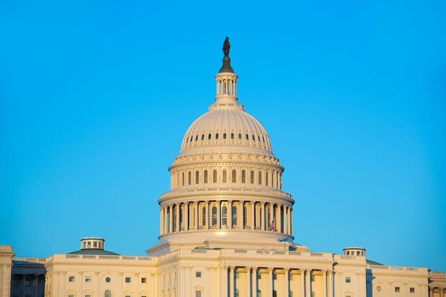 Capitol gebouw koepel washington dc amerikaanse congres