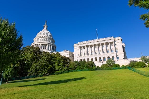 Capitol gebouw washington dc zonlicht dag vs.