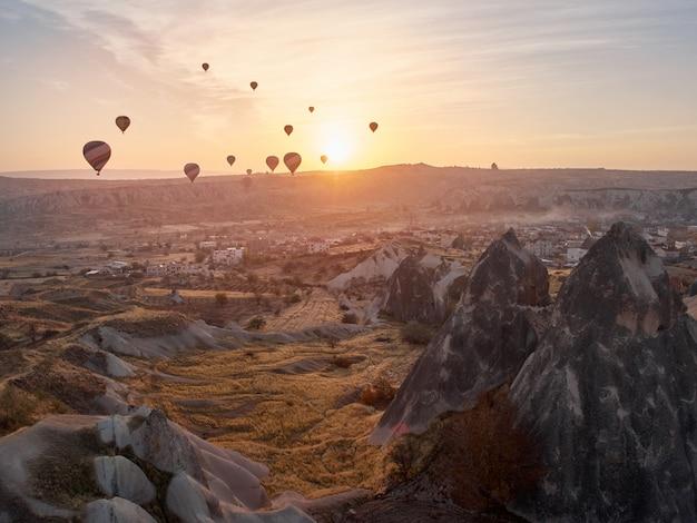 Cappadocia hot air balloon festival.
