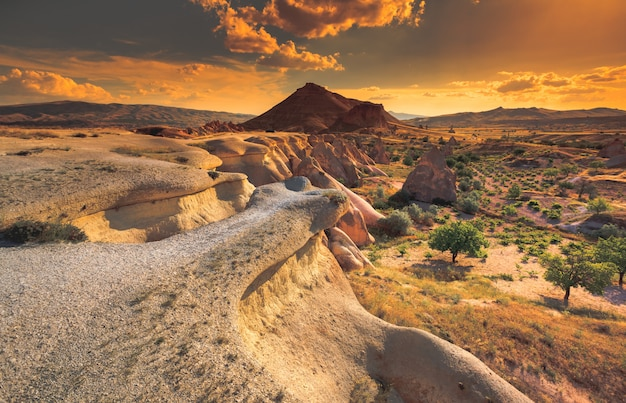 Cappadocië berglandschap