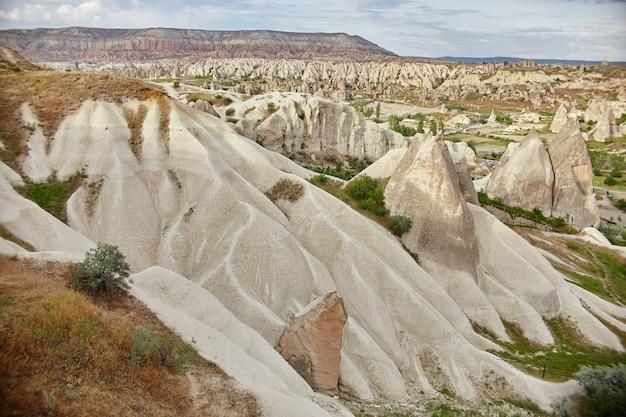 Cappadocië ondergrondse stad binnen rotsen