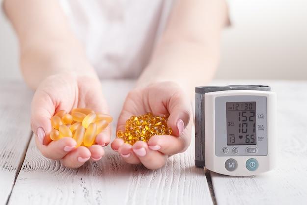 Capsules van visolie en vitamine e beschermen tegen hartaandoeningen
