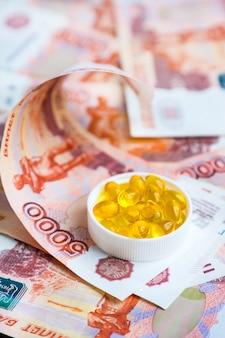Capsules visolie en russische roebels