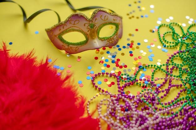 Carnaval. mardi gras. braziliaans carnaval. de lente