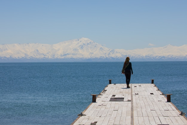 Carpanak-eiland en suphan-berg in turkije