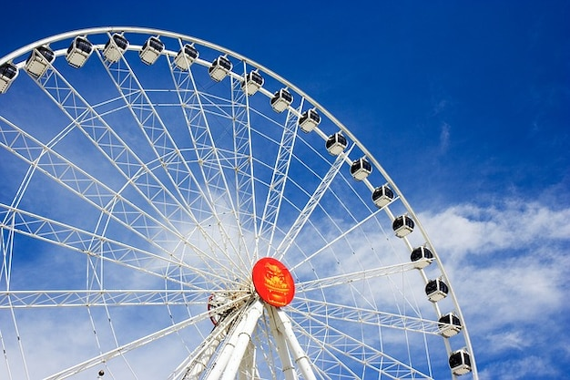 Carrousel carnaval hutten attractie amusement