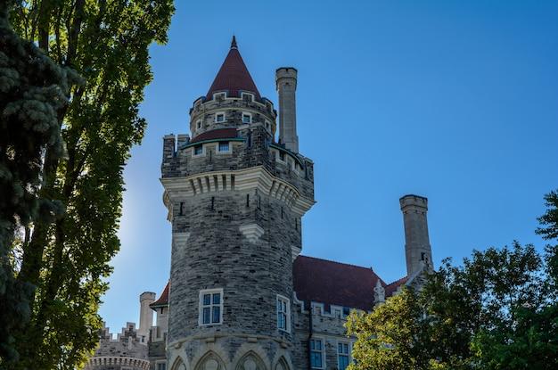 Casa loma-museum toronto. prachtig oud kasteel