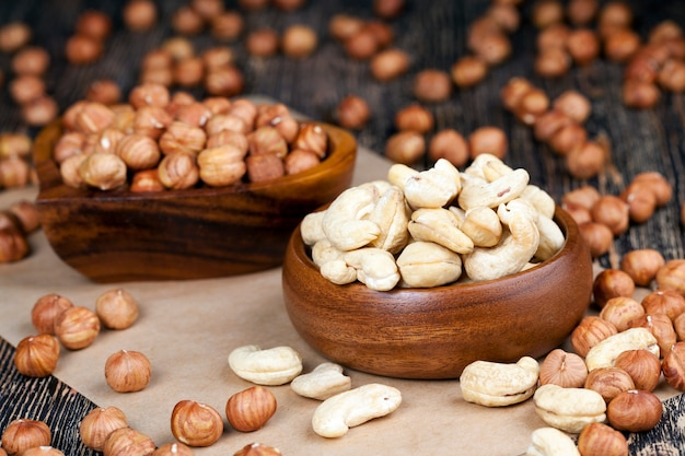 Cashew en hazelnoot