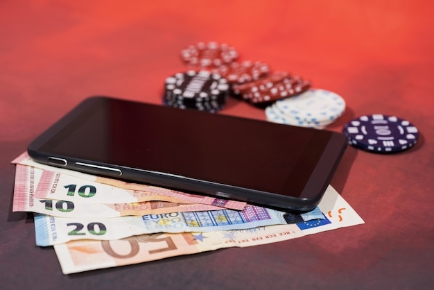 Casino pokerspel.