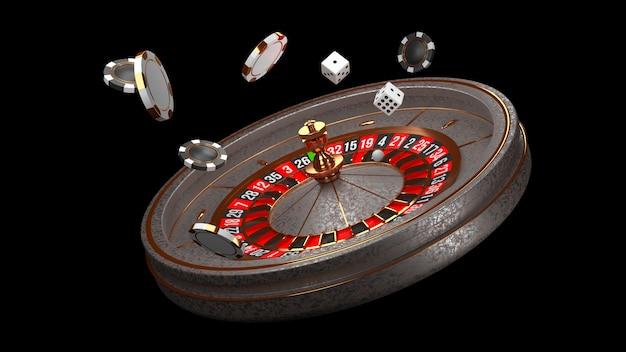 Casino roulettewiel