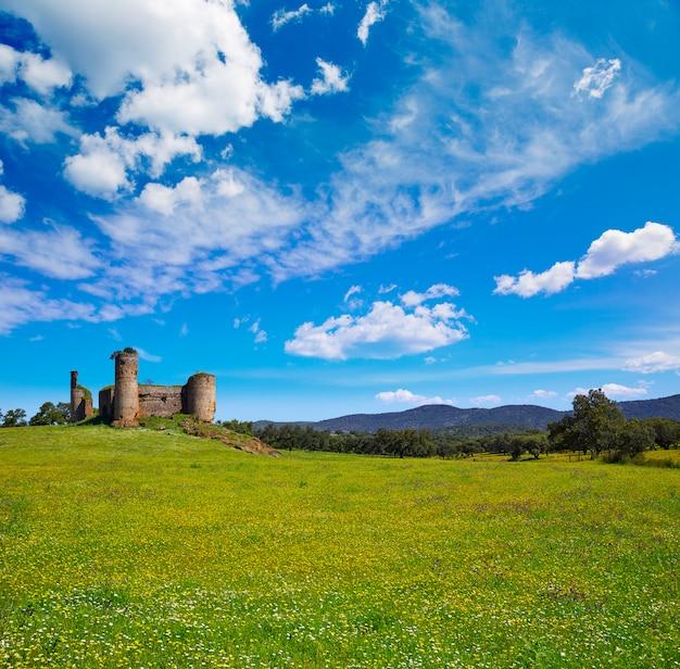 Castillo de las torres kasteel door via de la plata