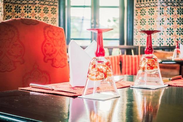 Catering tafelkleed plaat drink achtergrond