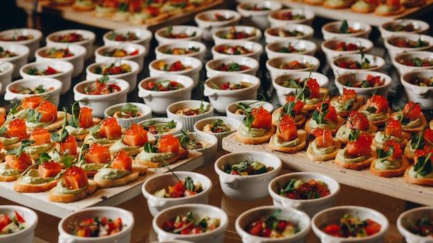 Catering voedsel voor feesten