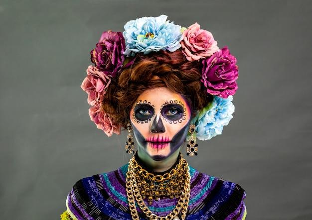 Catrina make-up