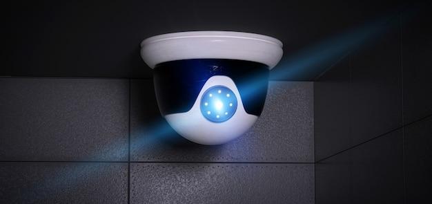 Cctv camerasysteem van de veiligheid - het 3d teruggeven