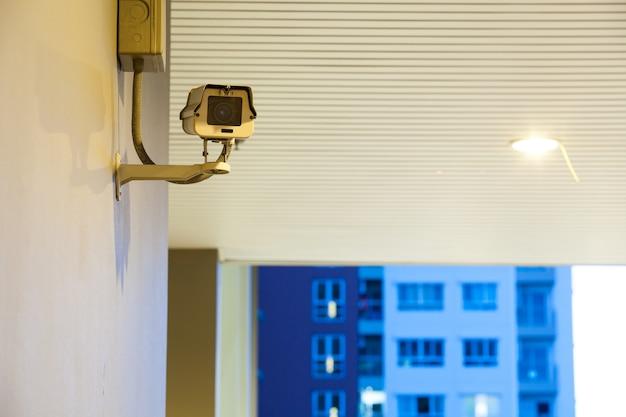 Cctv-videocamera voor buitenlocatie