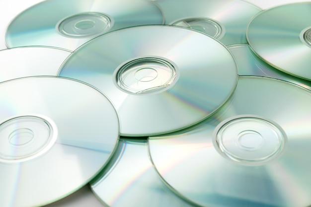 Cd, dvd-stapel
