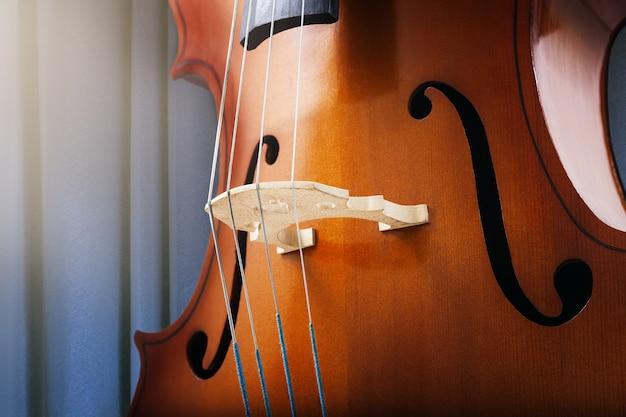 Cello- of vioolsnaren klassieke muziek