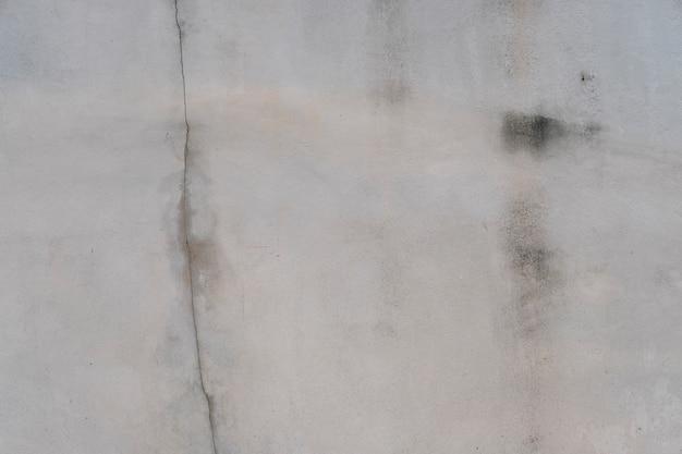 Cement spleet muur grunge achtergrond