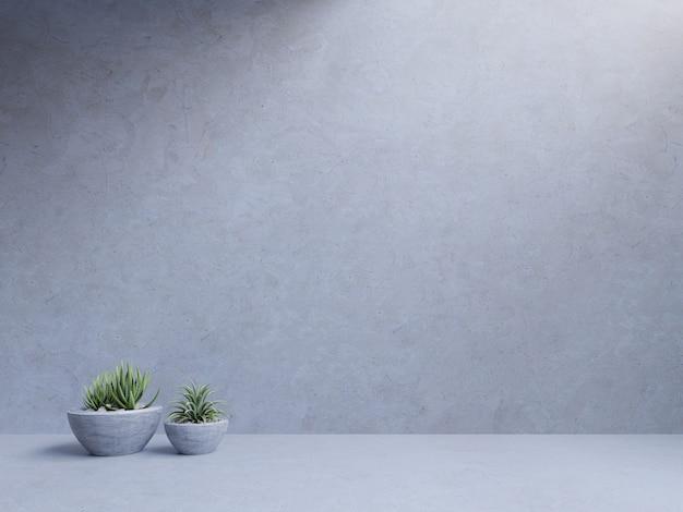Cementruimte lege ruimte met installaties op houten vloer