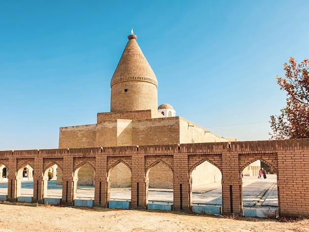 Centraal-azië. oezbekistan, bukhara city oude architectuur