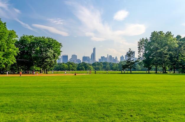 Central park, manhattan, new york city, verenigde staten