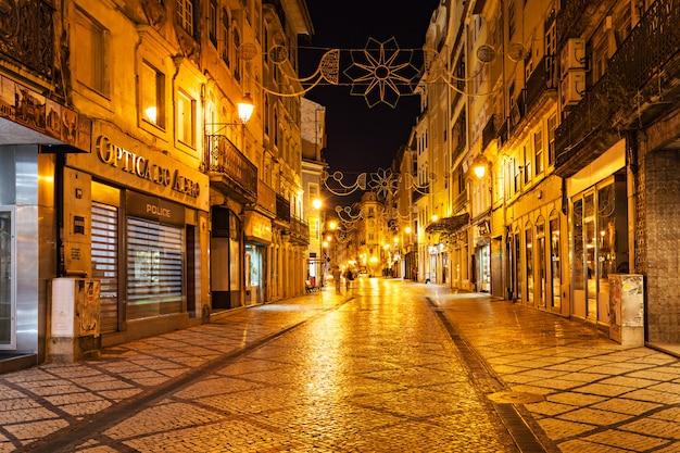 Centrale straat van coimbra