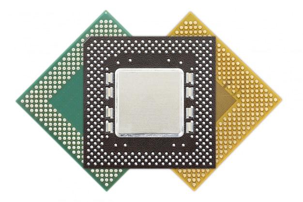 Centrale verwerkingseenheid of computerchip