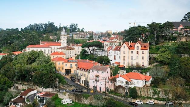 Centrum van de stad sintra in portugal.